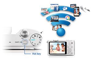 One-touch wireless sharing Wi-Fi (Smart Link)