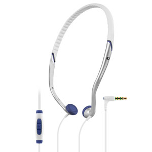 PX 685i SPORTS Headphone White / Silver