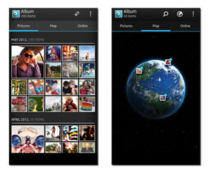 View, share and experience camera snaps and online albums in new ways