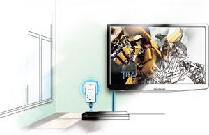 200Mbps AV Ensures Smooth HD Video Streaming