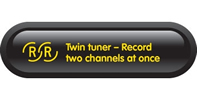Twin tuner - Record two channels at once