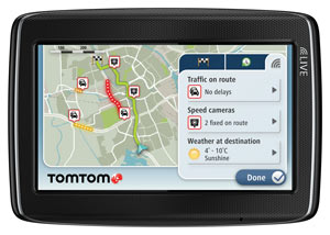 TomTom HD Traffic gives you the most up-to-date traffic information, and IQ Routes helps you find the fastest route, anytime.