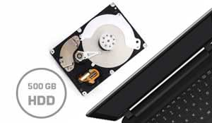 big 500GB hard drive