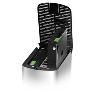 You can quickly access and replace the drives in the WD My Book Thunderbolt Duo without the need for any screwdrivers.