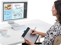 WACOM Intuos Medium - Creative Pen & Touch Tablet