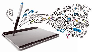 WACOM Intuos Small - Creative Pen tablet
