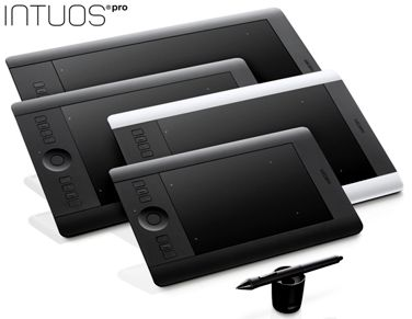 WACOM Intuos Pro M - Professional and Creative Pen & Touch tablet