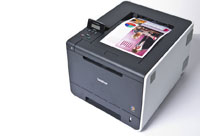 High speed network-ready colour laser with automatic double-sided printing