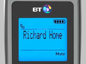 The new menu structure makes it easy to access a number of useful BT Calling Features