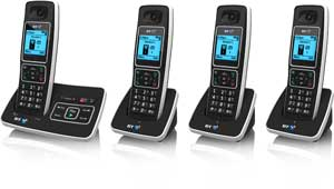 The BT6500 is available with up to three extra handsets  for other rooms, with no need for additional phone sockets
