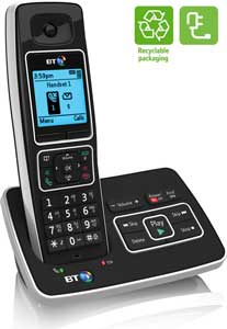 The advanced BT6500 phone is energy efficient and also comes with recyclable packaging