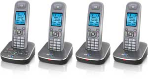 The BT7500 is available with up to three extra handsets  for other rooms, with no need for additional phone sockets