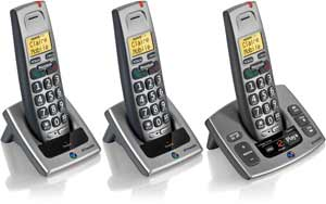 Extra handsets can be purchased for other rooms, with no need for additional phone sockets.