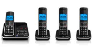 The BT Inspire 1500 is available with up to 4 handsets, so you can have a phone in more than one room.
