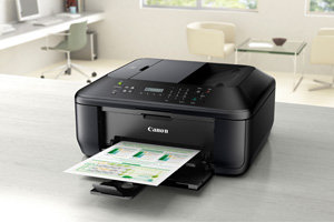 Compact and stylish All-In-One with Auto Document Feeder