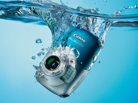 Waterproof, freeze-proof and shockproof - the PowerShot D10 keeps on going