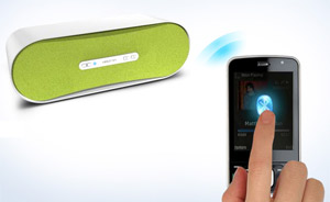 Stream music easily from any Bluetooth-enabled device.
