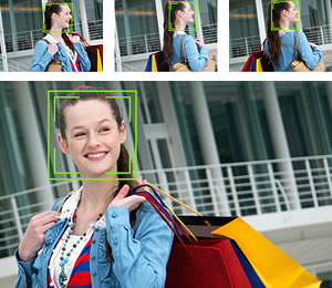 Face Tracking AF combines Face Detection with Tracking Auto Focus to keep your subject in sharp focus