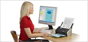 Designed to speedily digitise documents and facilitate the paperwork of everyone in the office whether directly into a company's business processes, local network or into the cloud