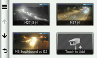You can see traffic for yourself with PhotoLive traffic cameras