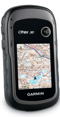 Garmin eTrex 30: Navigate with Ordnance Survey Mapping