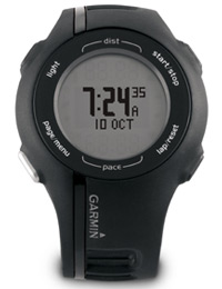 Garmin Forerunner 210: It's also a watch