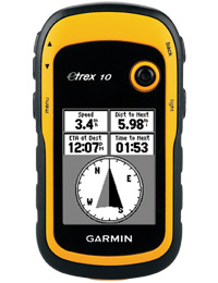 Garmin eTrex 10: eTrex shows you the way