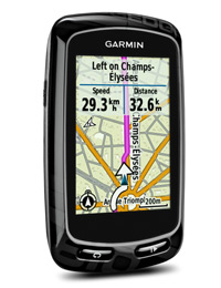 Edge 810: Get directions on road in Europe