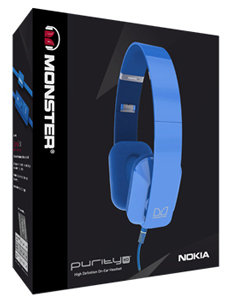 Nokia WH-930 Purity HD Wired On-Ear Stereo Headset By Monster