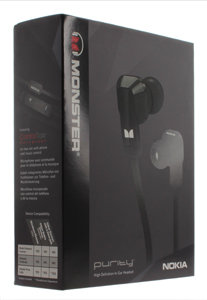 Nokia WH-920 Purity In-Ear Wired Stereo Headset By Monster