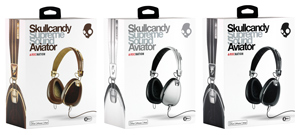Skullcandy Aviator 2.0 On-Ear Headphones with Mic