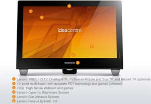 See some of the features of the Lenovo IdeaCentre B540