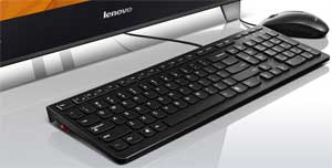 The wireless AccuType keyboard is stylish, ergonomic, and designed to make typing easier.