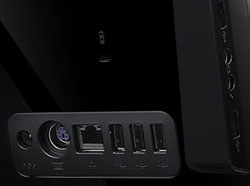 Experience excellent connectivity with an array of ports