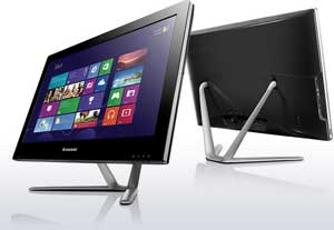 The Lenovo C540 features a space-saving slim design that will look good in any room