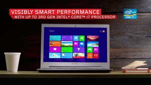 The Intel Core processors are the same models that you'd find in full-size notebooks
