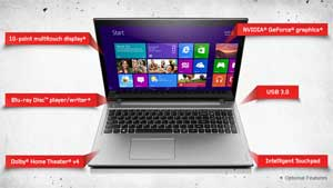 The high-performance Lenovo IdeaPad Z500 is designed to be slim and easy to carry