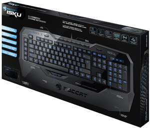 ROCCAT ISKU retail packaging