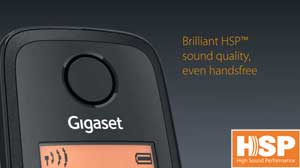 Gigaset High Sound Performance phones allow you to experience amazingly clear sound quality