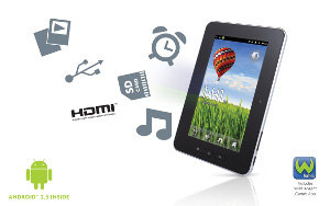 Entry level Android 2.3 Tablet, with limitless possibilities and 1,000s of Android Apps Available