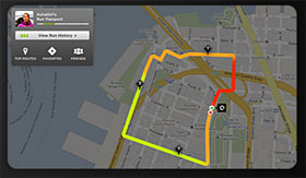 Upload your GPS data to nikeplus.com, the world's largest online running community, to map your run and share your routes.