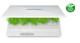 You can start saving energy at the press of a button with the Toshiba Eco Utility