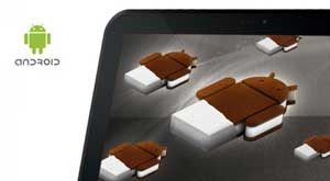 Optimised for tablets, Android 4.0 lets you choose from hundreds of thousands of apps