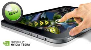 "Powered by the NVIDIA Tegra 3, the Toshiba AT300 offers effortless multimedia on a responsive 10.1"" touchscreen."