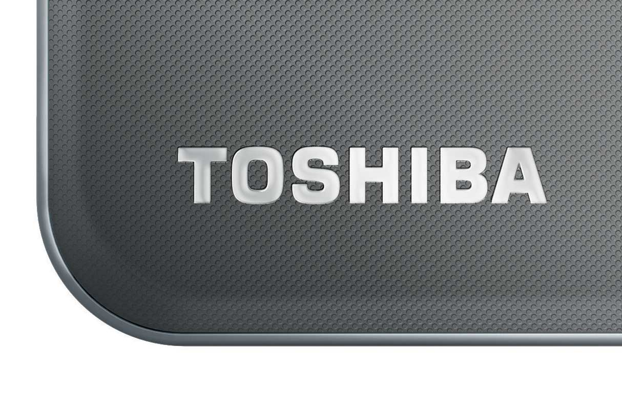 The Toshiba AT300 Tablet features a premium brushed metal design that