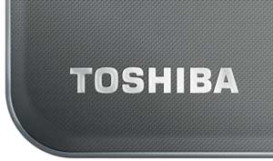 The Toshiba AT300 Tablet features a premium brushed metal design that sits comfortably in the hand