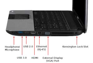 See some of the features of the Toshiba Satellite C855 laptop