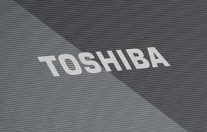 The Toshiba Satellite C855 has a smart textured finish