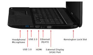 See some of the features of the Toshiba Satellite C850 laptop