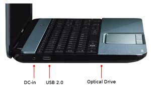 See some of the features of the Toshiba Satellite L855 laptop.